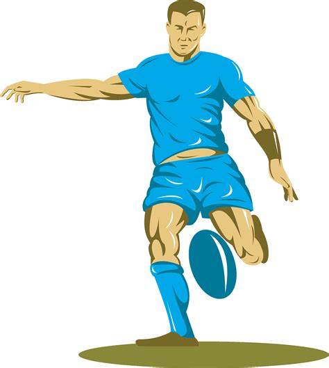 rugby player cartoon clipart - Clipground