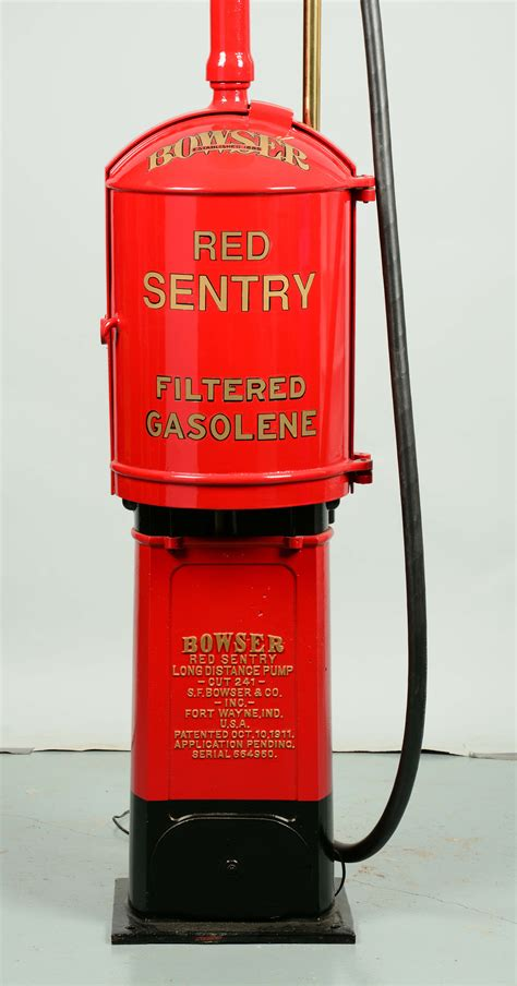 """Lot Detail - BOWSER """"RED SENTRY"""" CURB PUMP W/ LIGHT TOWER"""