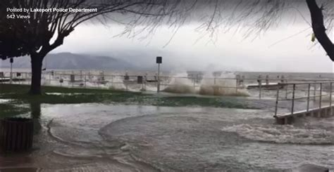 Clear Lake Water Levels Vids from Lakeport PD