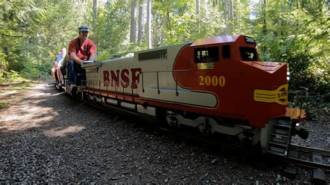 Blow off some steam with train hobbyists in Port Orchard