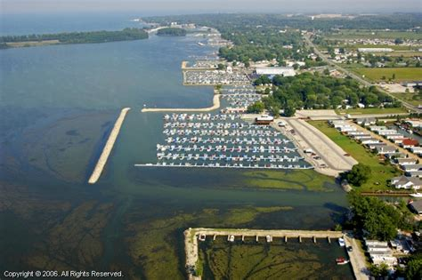 Bass Haven Marina in Marblehead, Ohio, United States