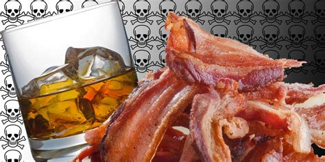Are Bacon And Alcohol Bad For You? - AskMen