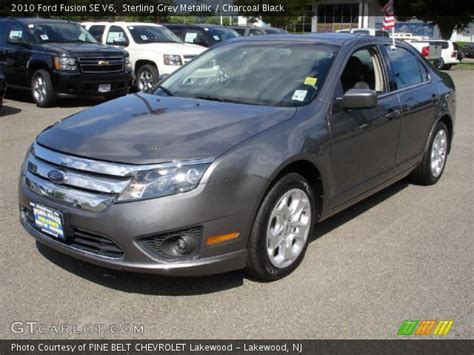 Sterling Grey Metallic - 2010 Ford Fusion SE V6 - Charcoal
