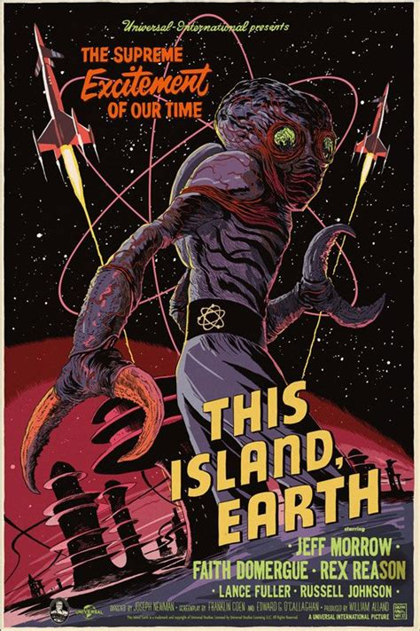 This Island Earth Poster from Mondo Features the Metaluna