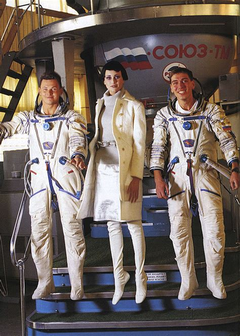 Throwback Thursday - Vogue in Space, 1999 - Lela London