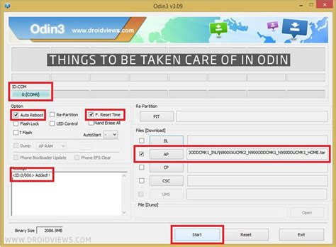 Install Stock Firmware on Samsung Galaxy Devices Using