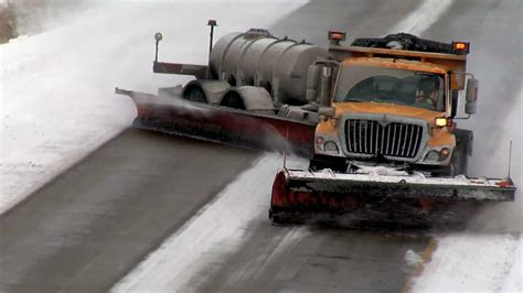 Watch This Epic Two Lane Snow Plow Clear The Streets Of