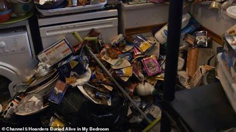 Hoarder, 47, 'created a hell to live in' surrounded by