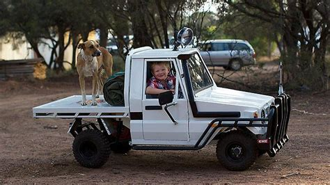 With his own Land Cruiser, is this Australia's luckiest boy?