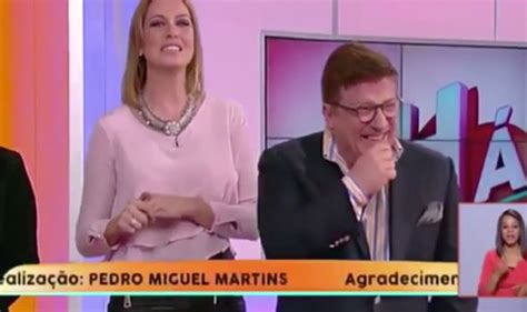 Fury as TV star is left humiliated after male colleague