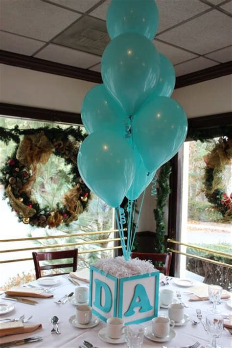 19 Cute And Sweet Balloon Centerpieces For Baby Showers