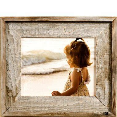 Rustic Reclaimed Barnwood Picture Frame   8x10 Rustic Wood