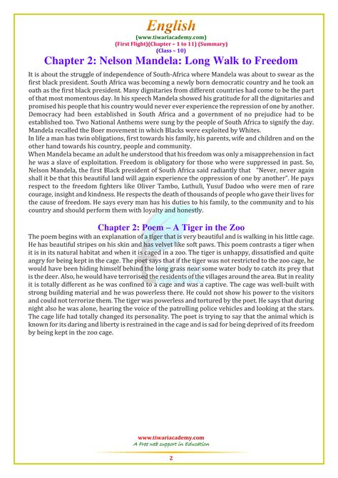 NCERT Solutions for Class 10 English First Flight Chapter