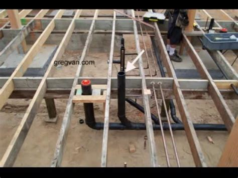 Raised Floor And Toilet Pipes - How Does A Plumbing Clean