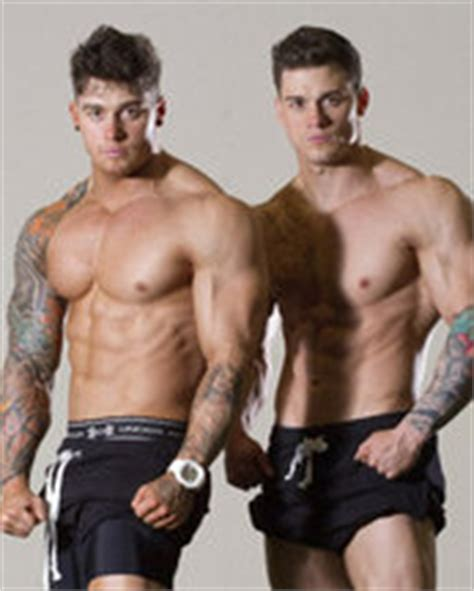Bodybuilding twin brothers' identical physiques   Daily Star