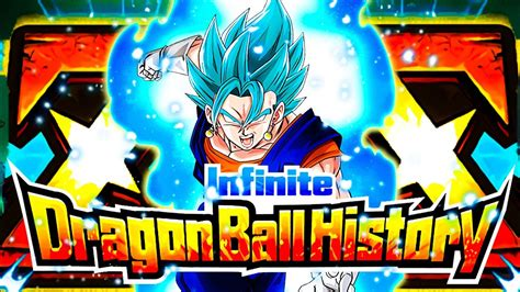 HOW GOOD IS EZA PHY VEGITO BLUE ON THE INFINITE DB HISTORY