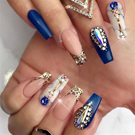Flawless Perfection Of Cobalt Blue Nails
