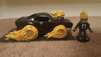 Ghost Rider Robbie Reyes minimate with car from Agents of