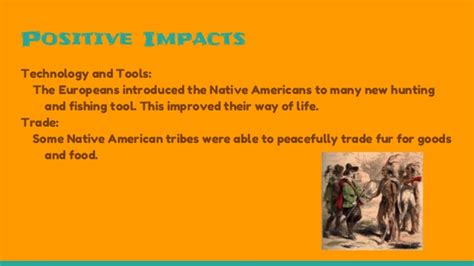 The affects immigrants had on native americans