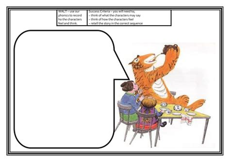 Tiger who came to tea resources | Tiger education, Tiger