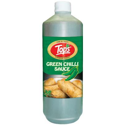 Tops Green Chilli Sauce at Best Price in India