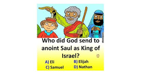 Who did God send to anoint Saul as King of Israel? - BIBLE