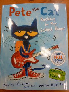 Bring on the Books: TUESDAY: Pete the Cat: Rocking in My