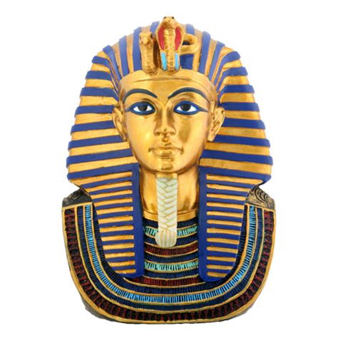 """Mask of King Tut Statue, 4""""H"""