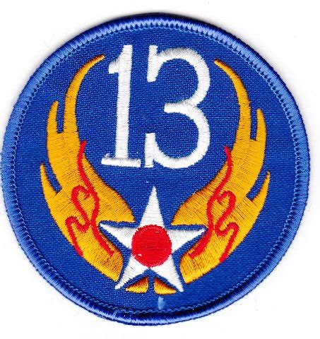 13th USAAF Army Aircorps patch – Murphs Militaria