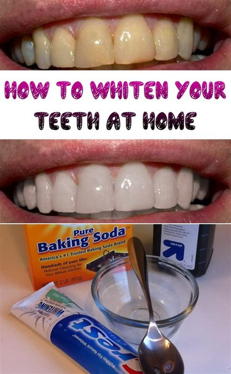 15 Natural Ways to Whiten Your Teeth: Homemade Teeth