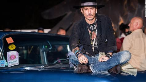 Johnny Depp: 'When was the last time an actor assassinated