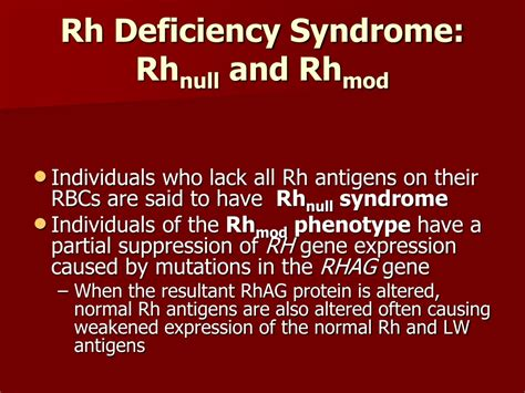 PPT - Rh Blood Group System PowerPoint Presentation, free