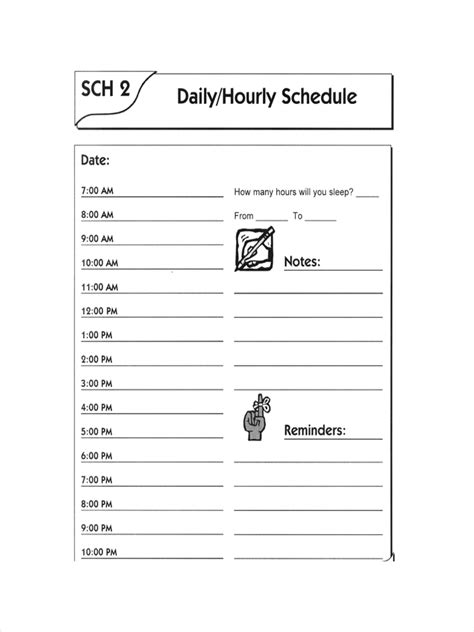 FREE 10+ Appointment Schedule Examples & Samples in PDC
