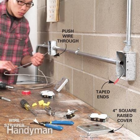 electrical - Can I use a cord and plug to power a wall