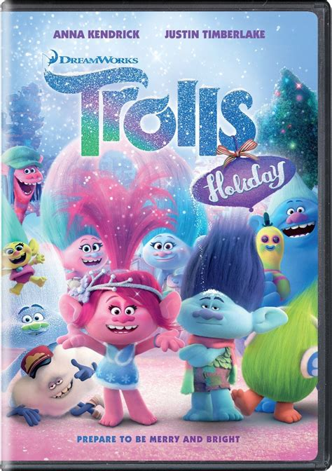 Trolls Holiday on DVD Only $3