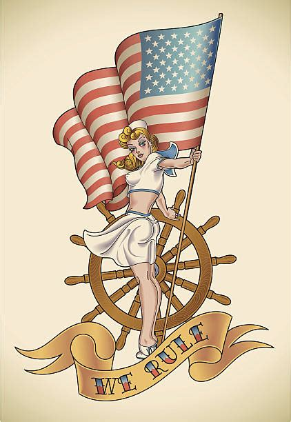 Royalty Free Sailor Jerry Clip Art, Vector Images
