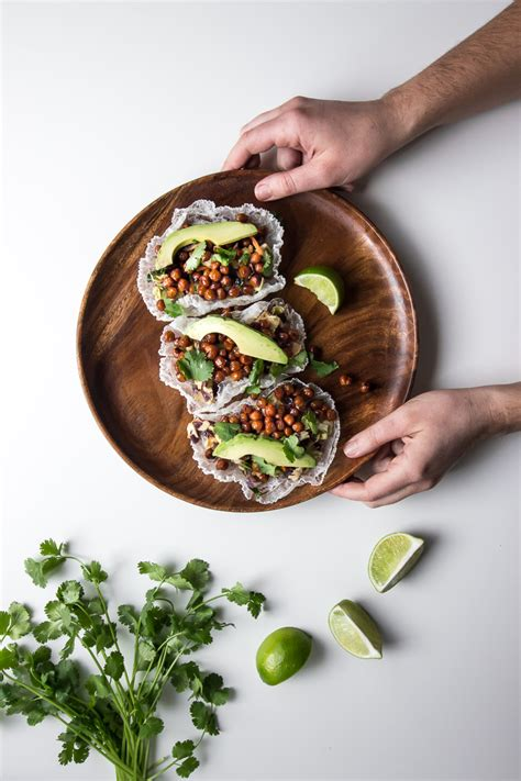 ASIAN CHICKPEA RICE PAPER TACOS - ful-filled