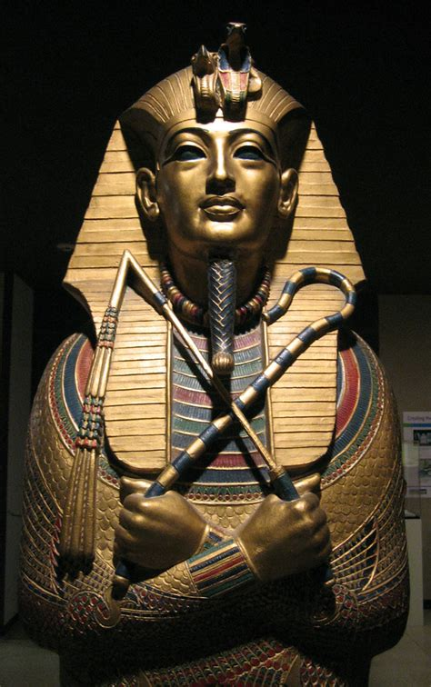 King Tut Statue | Reproduction, at the Rosicrucian
