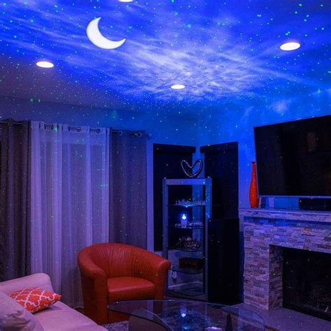 This Stunning Star Projector Lights Up Your Bedroom Like
