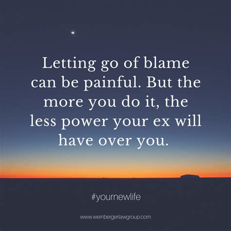 How to Stop Blaming Your Ex And Move On With Your Life!