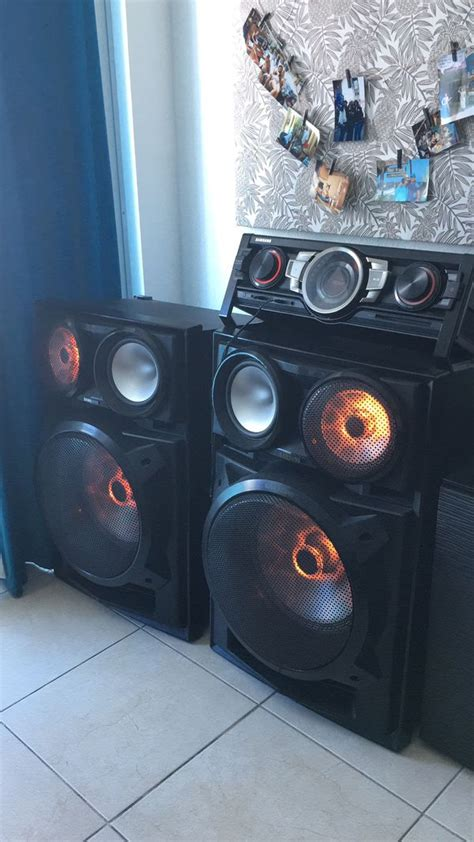 Samsung, high definition stereo/ Dj system for Sale in