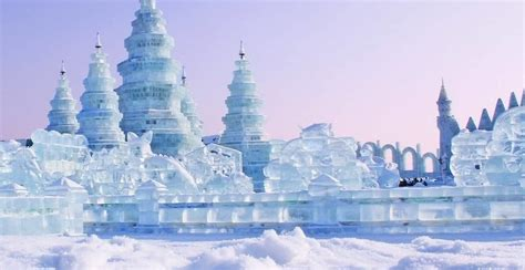 The world's largest snow and ice festival is happening in