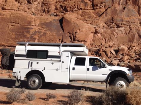 2002 Ford F550 4x4 custom built expedition camper with