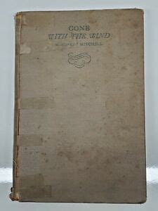 Gone With The Wind Book Margaret Mitchell July 1936