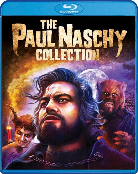 Scream Factory to Release THE PAUL NASCHY COLLECTION Blu